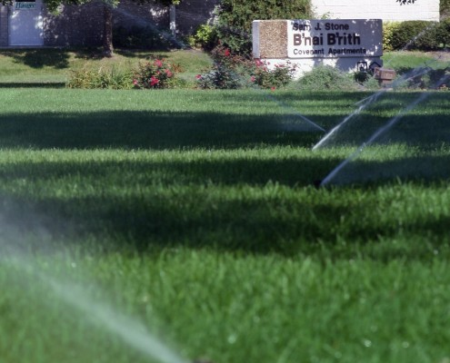 Custom Commercial Irrigation System
