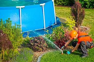 Lawn Sprinkler Repair Champaign IL