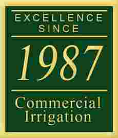 Excellence Since 1987 - Commercial Irrigation